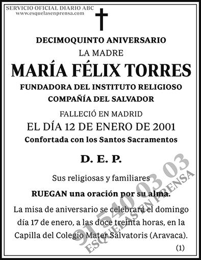 María Félix Torres
